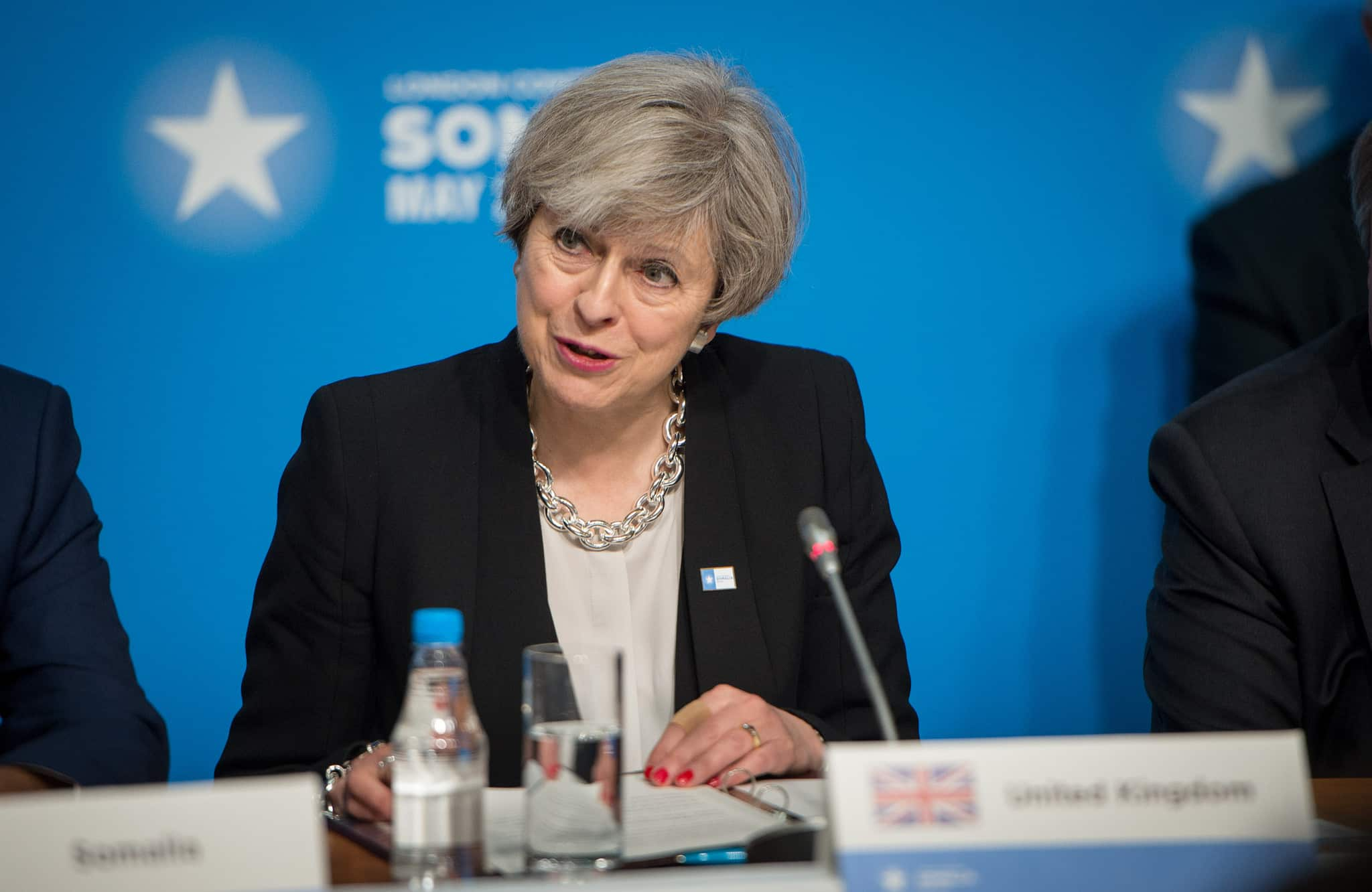 Strong and stable leadership Mrs May?