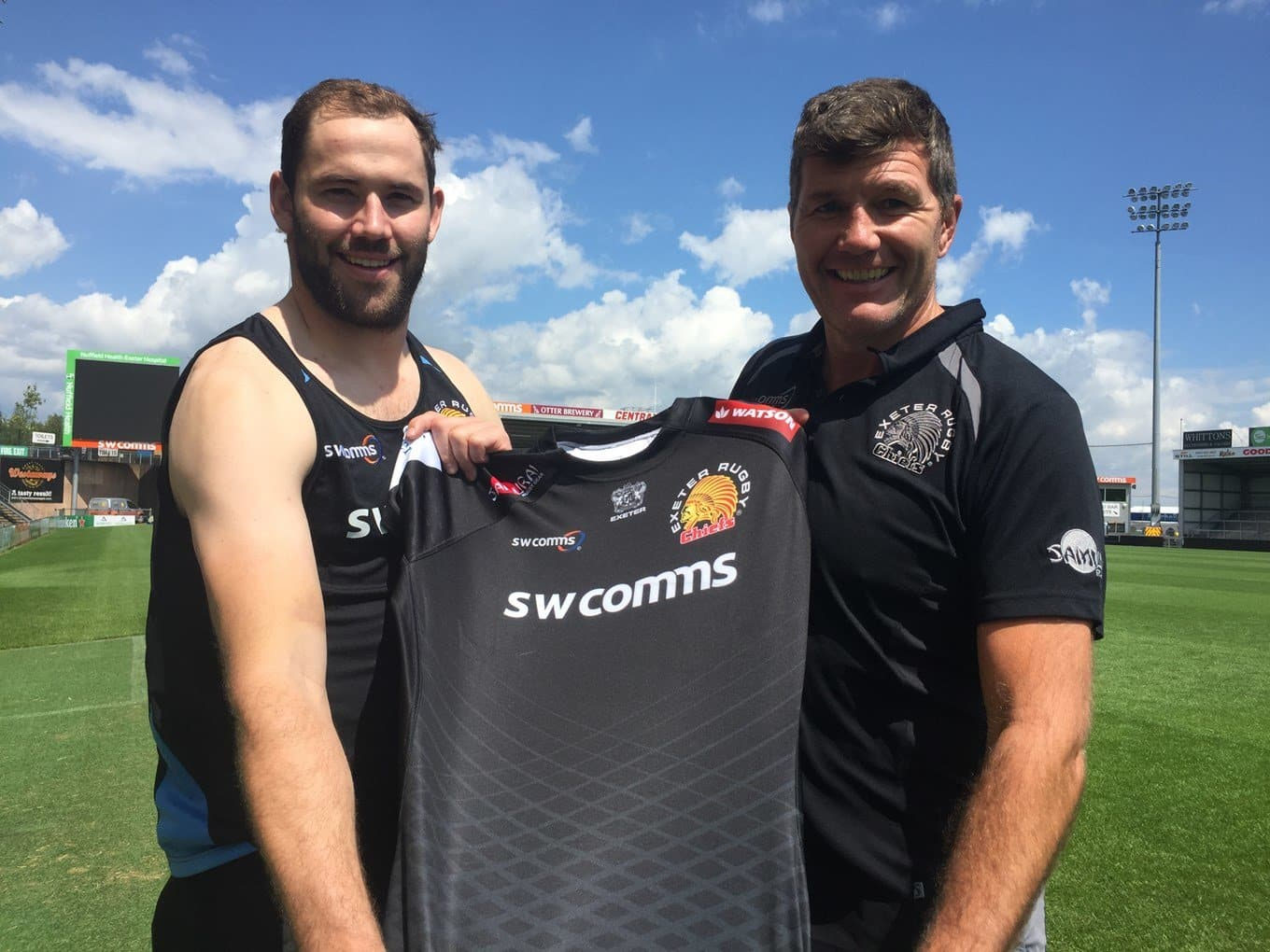 Exeter Chiefs Sign Van Der Sluys