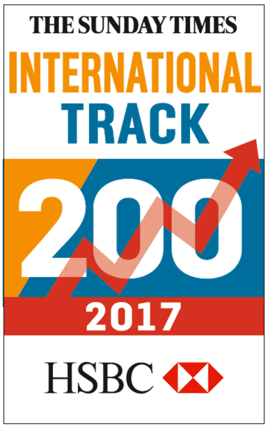 Travel Counsellors named in the Sunday Times International Track 200 for a sixth year!