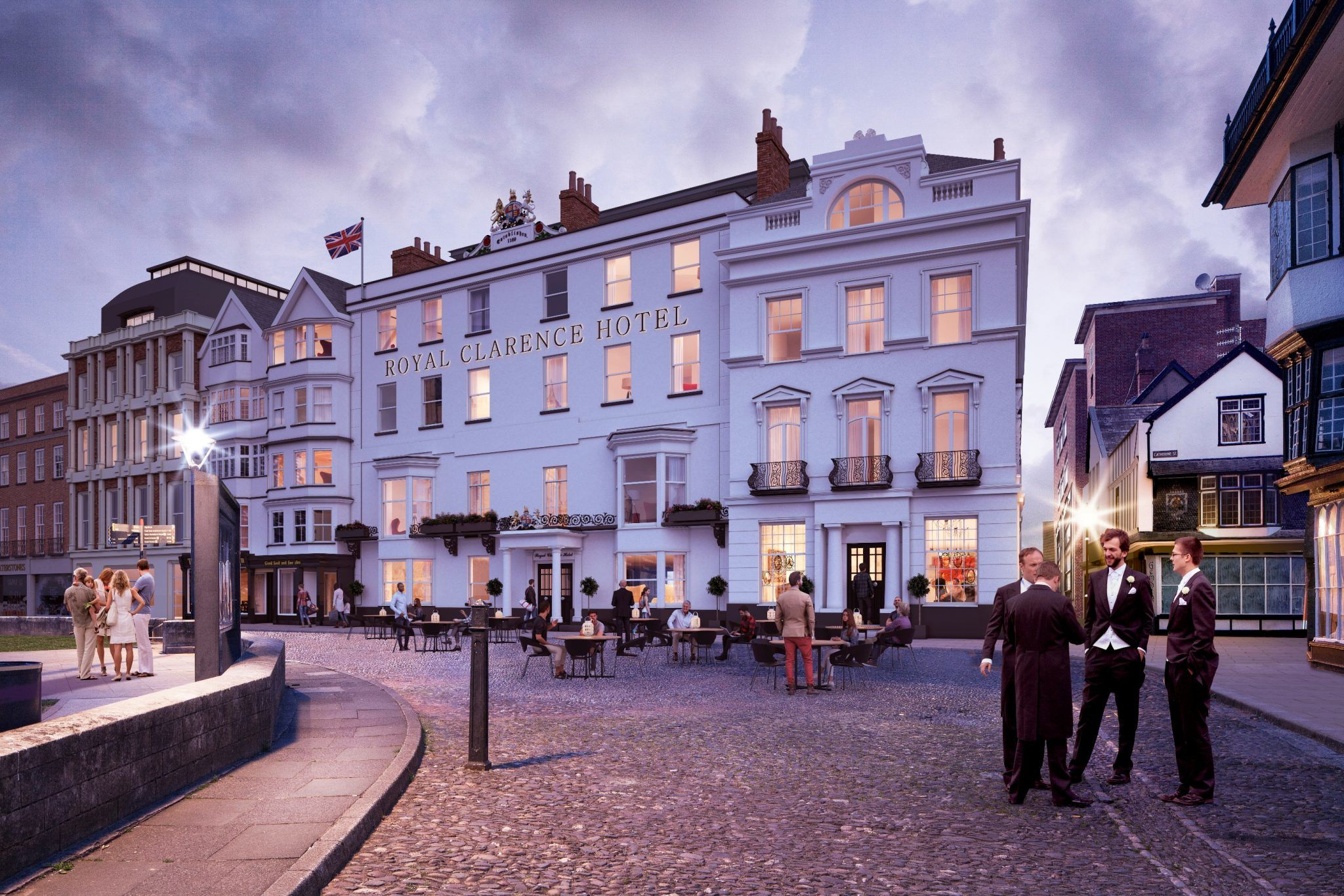 Royal Clarence – Plans Revealed