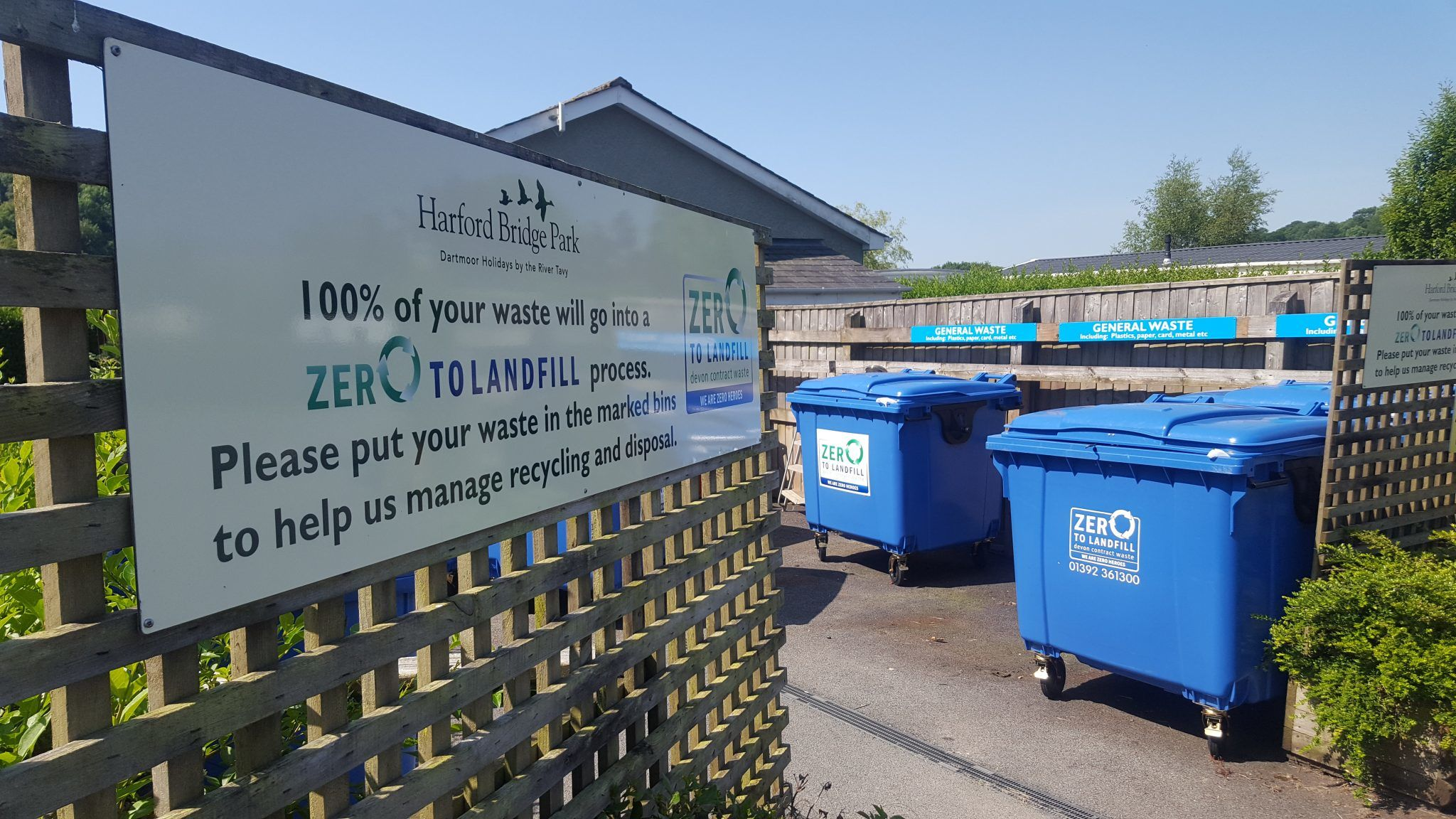 Devon Contract Waste helps holiday park bridge the gap to Zero to Landfill