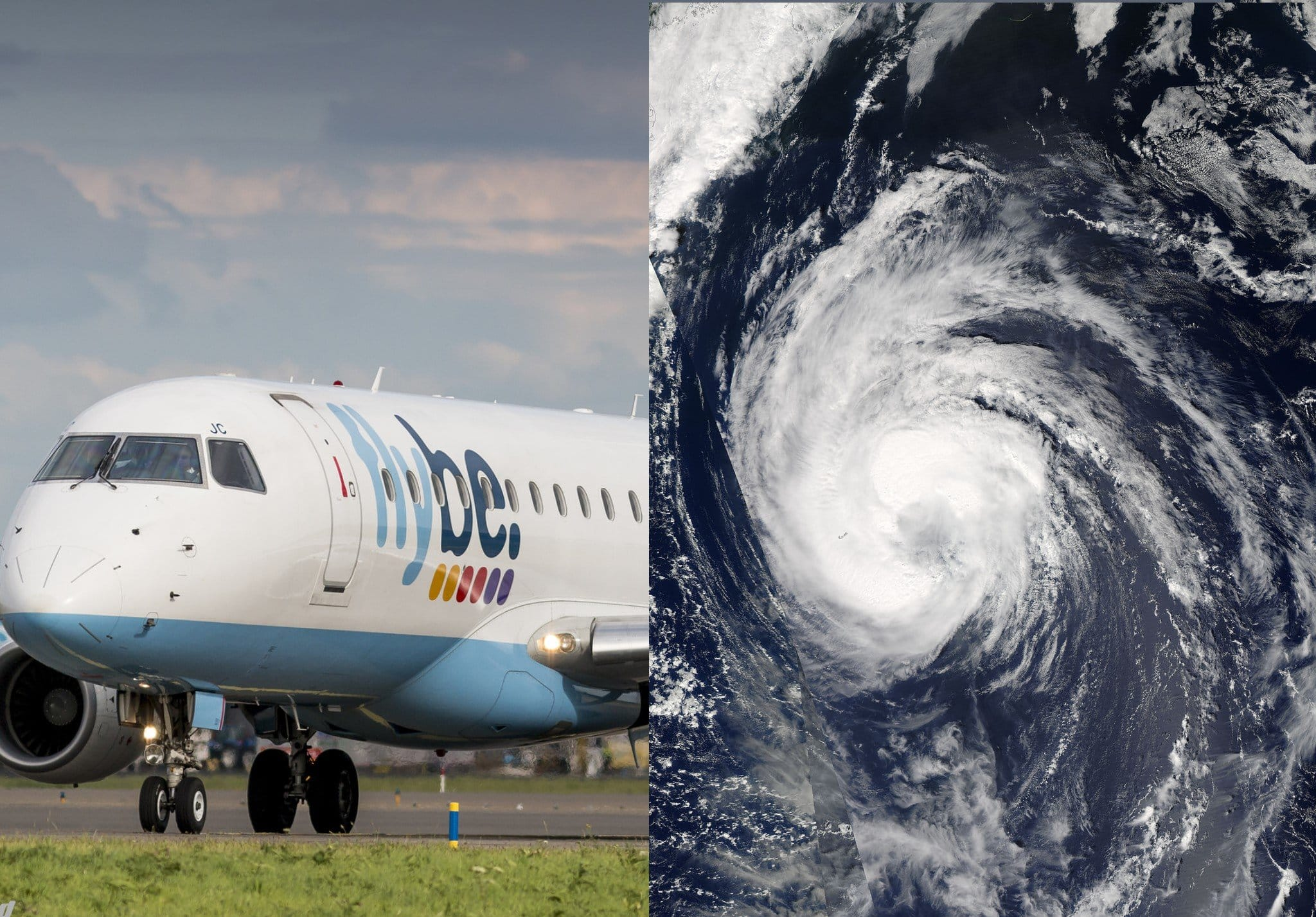 BREAKING NEWS – Flybe Forced to Cancel 170 Flights – Storm Ophelia