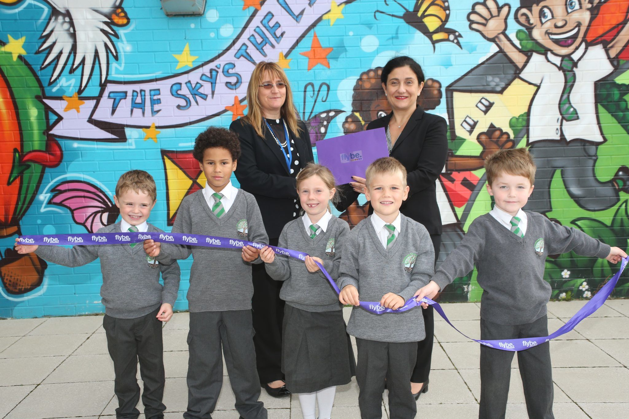 FLYBE STARTS NEW CHAPTER WITH LOCAL SCHOOL