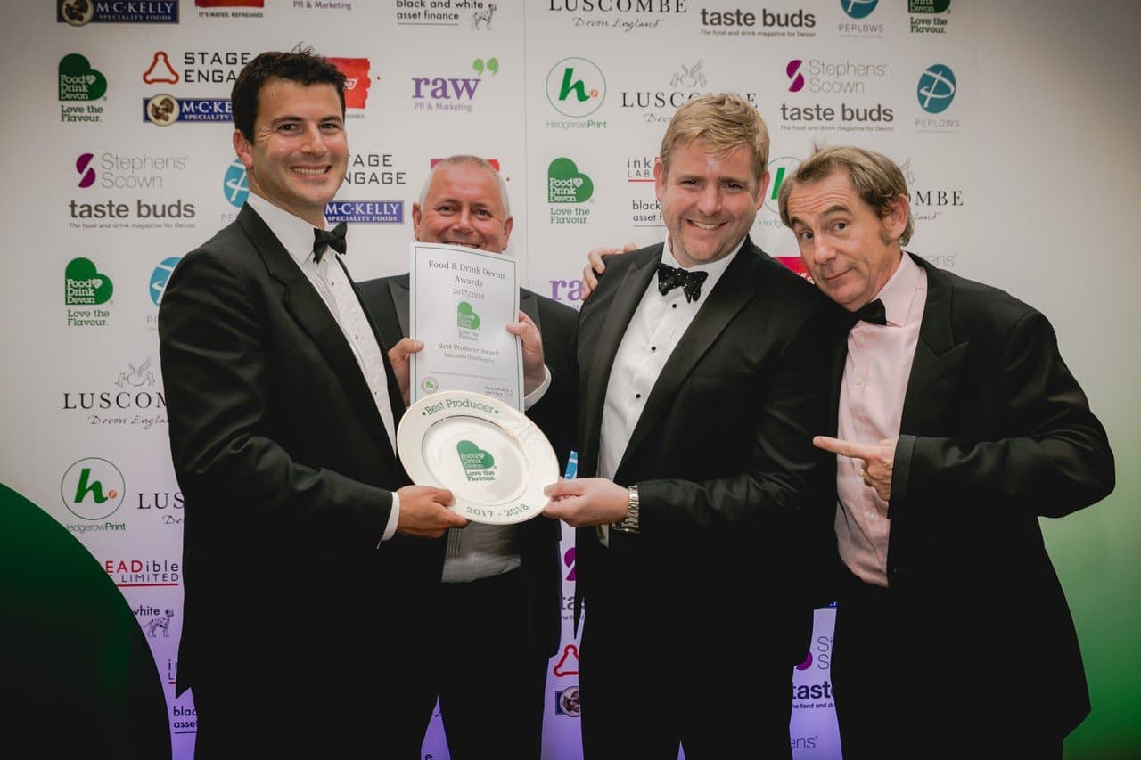 SALCOMBE DISTILLING CO. NAMED 'BEST PRODUCER' AT  THE FOOD & DRINK DEVON AWARDS