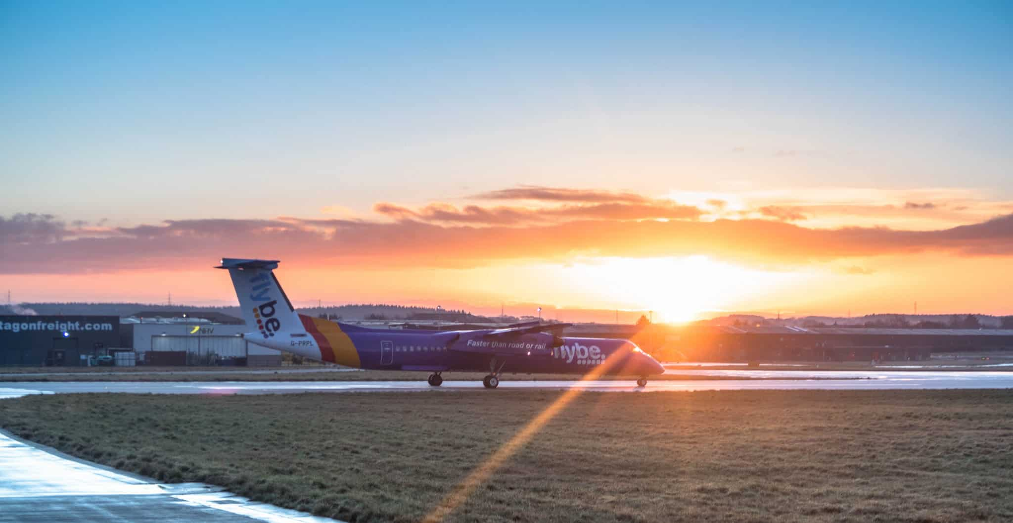 FLYBE'S WINTER SCHEDULE FROM EXETER TAKES OFF