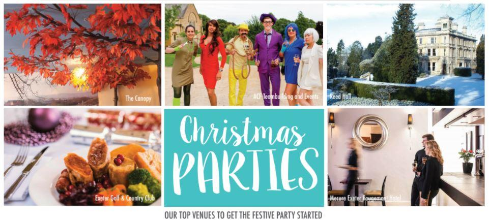5 Amazing Venues for your Christmas Parties…