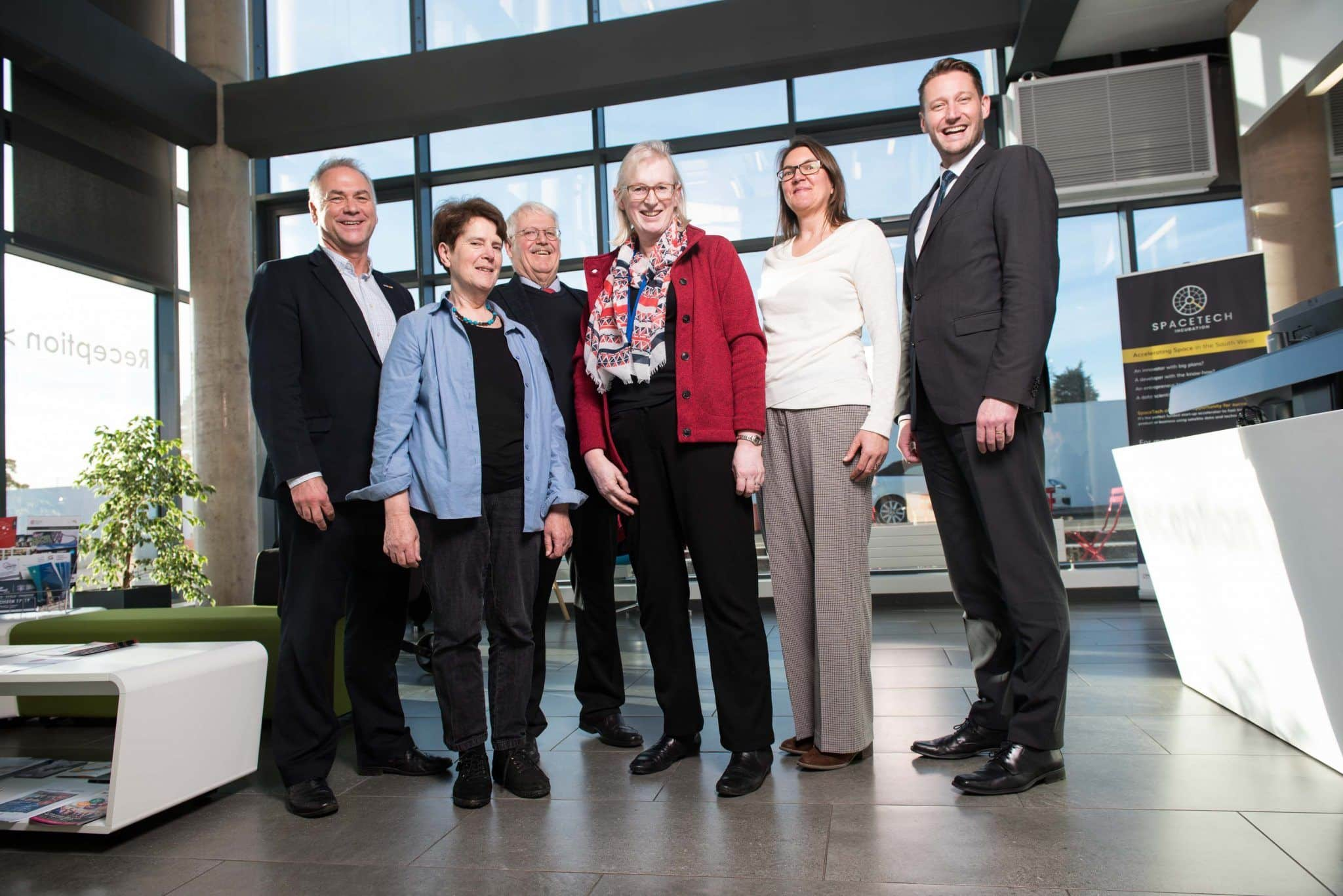 Exeter Science Park plays host to the city's German 'twins'