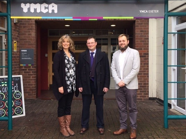 YMCA Exeter Announce Corporate Partnership with Construction Company