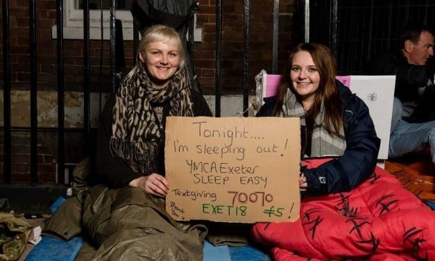 Record Amount Raised for the Homeless During YMCA Sleep Easy Week