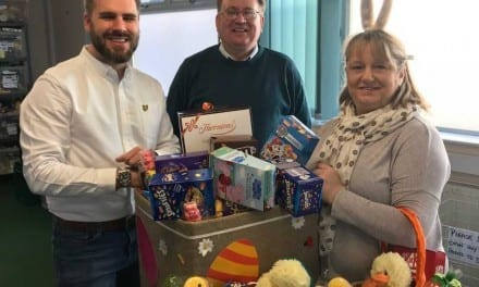 Happy Easter at HITS Foodbank