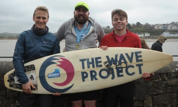 QuayClick raises over £250 for The Wave Project