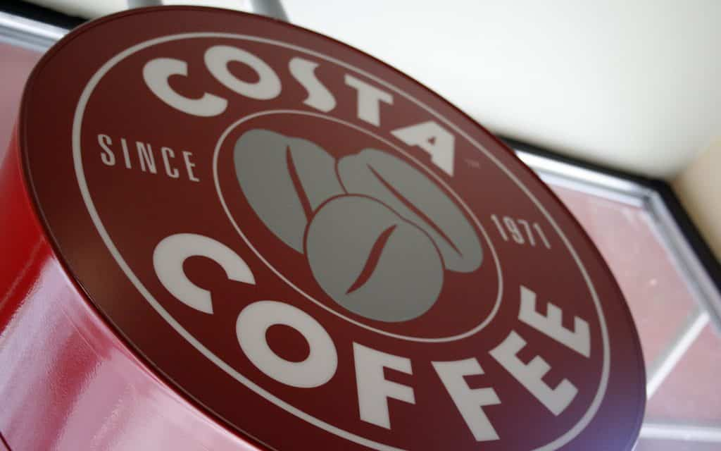 Costa Coffee announces commitment to recycle half a billion takeaway cups a year
