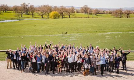 Devon Businesses Gather in April Sunshine