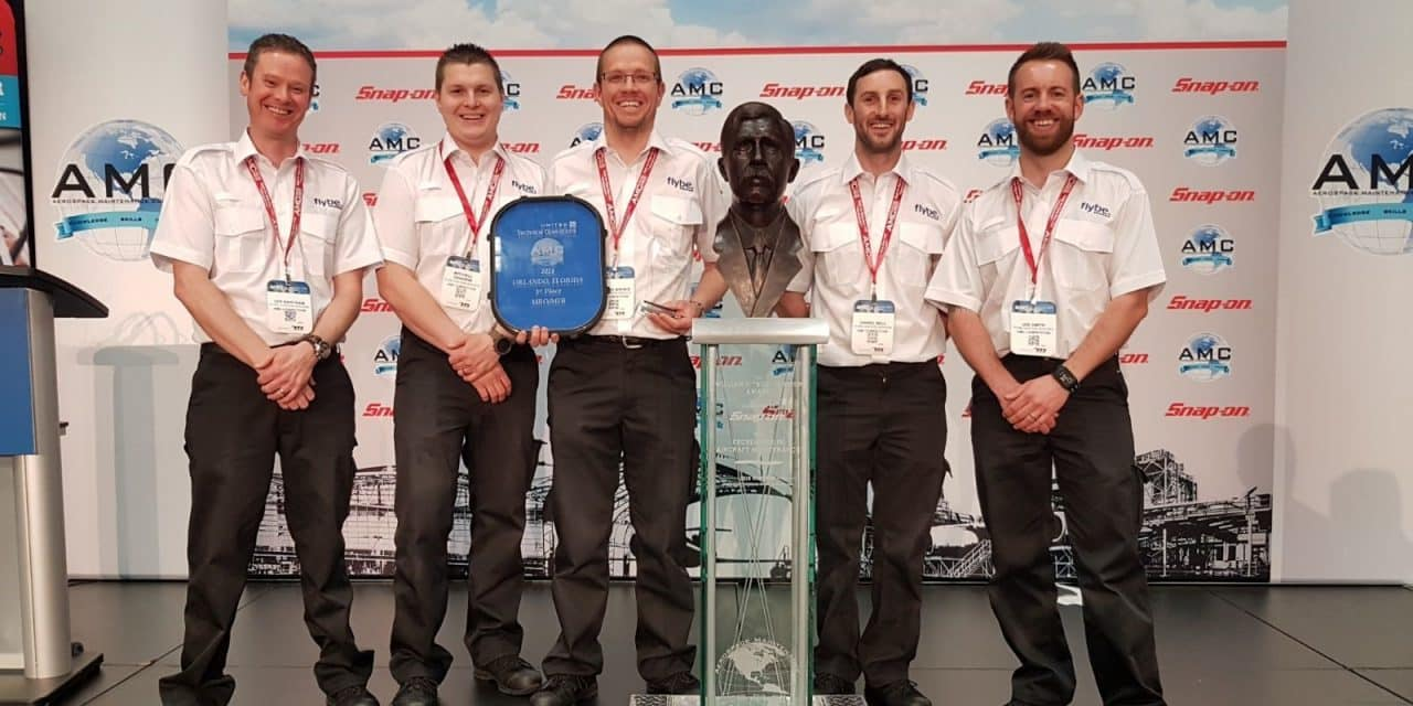 Flybe Engineers on Top of the World with Success at 'MRO Olympics'