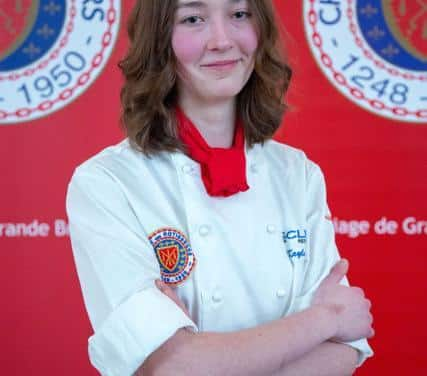 Exeter Teen is the Youngest Chef to Scoop Prestigious Cookery Award