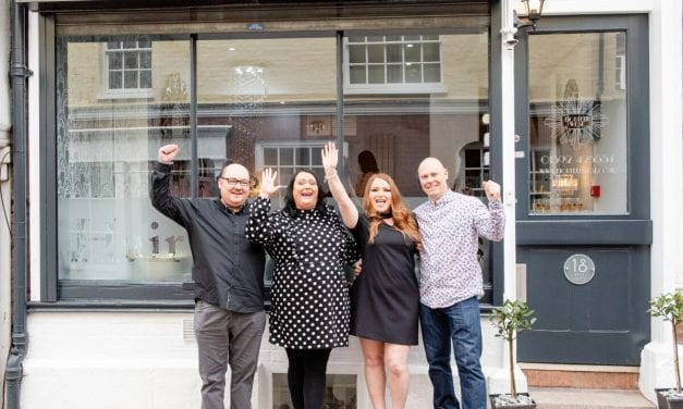 Exeter Salon Welcomes Local Business Representatives at VIP Launch