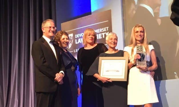 EXETER LAW FIRM WINS LAW SOCIETY AWARD