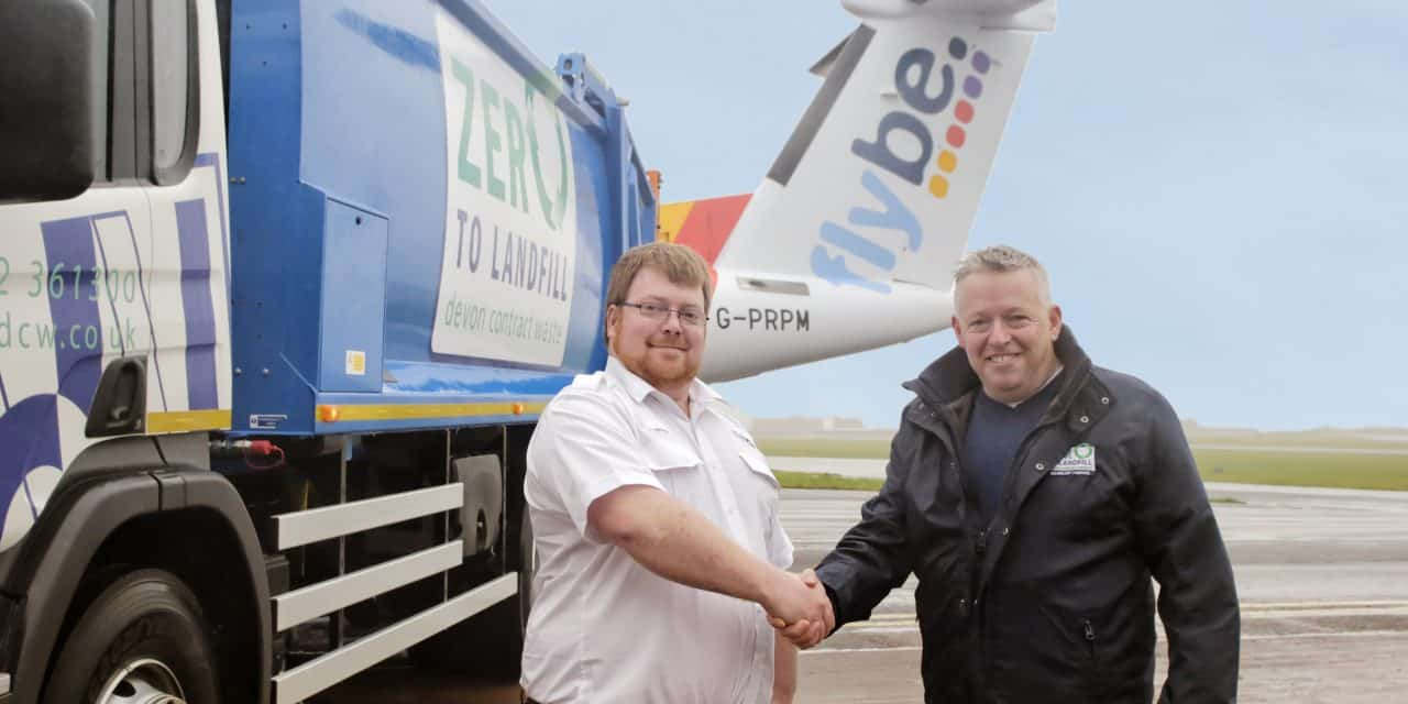 Devon Contract Waste lands contract with Flybe to bin landfill