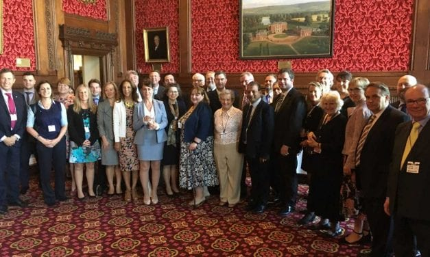 Solicitors from Local Law Societies Gather for a Reception at the House of Commons