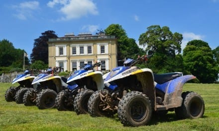 Enjoy a quad bike ride and do your bit for conservation!