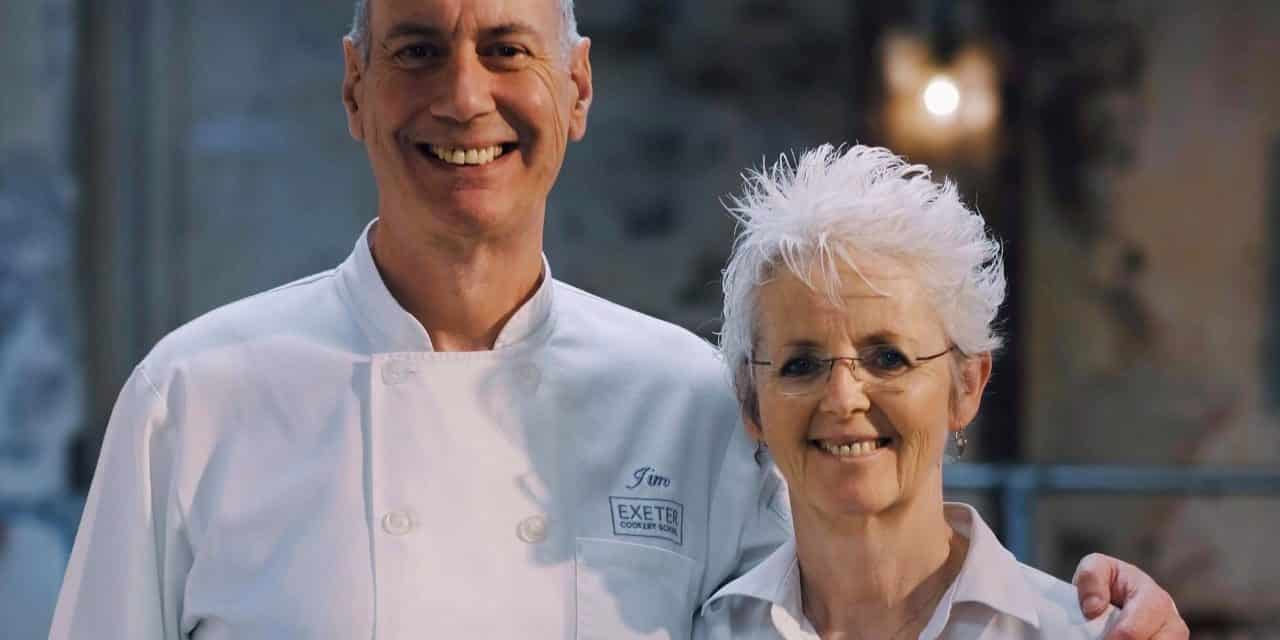 Twenty minutes with…. Jim & Lucy: Exeter Cookery School
