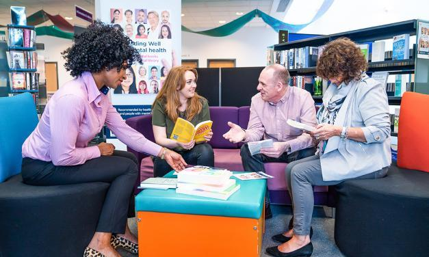 Libraries Unlimited Launches 'Reading Well for Mental Health'