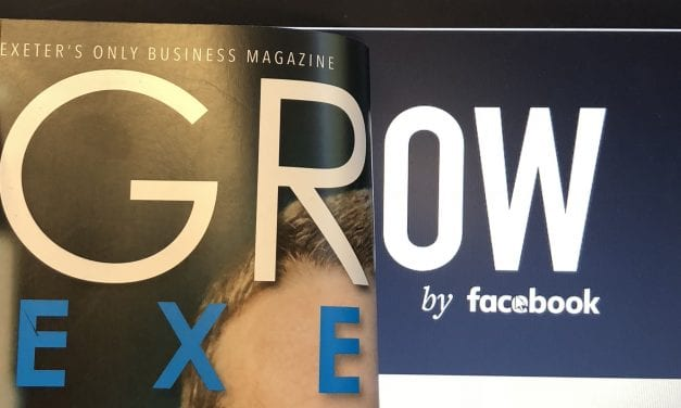 GROW EXETER MAGAZINE ANNOUNCEMENT: GROW BY FACEBOOK MAGAZINE