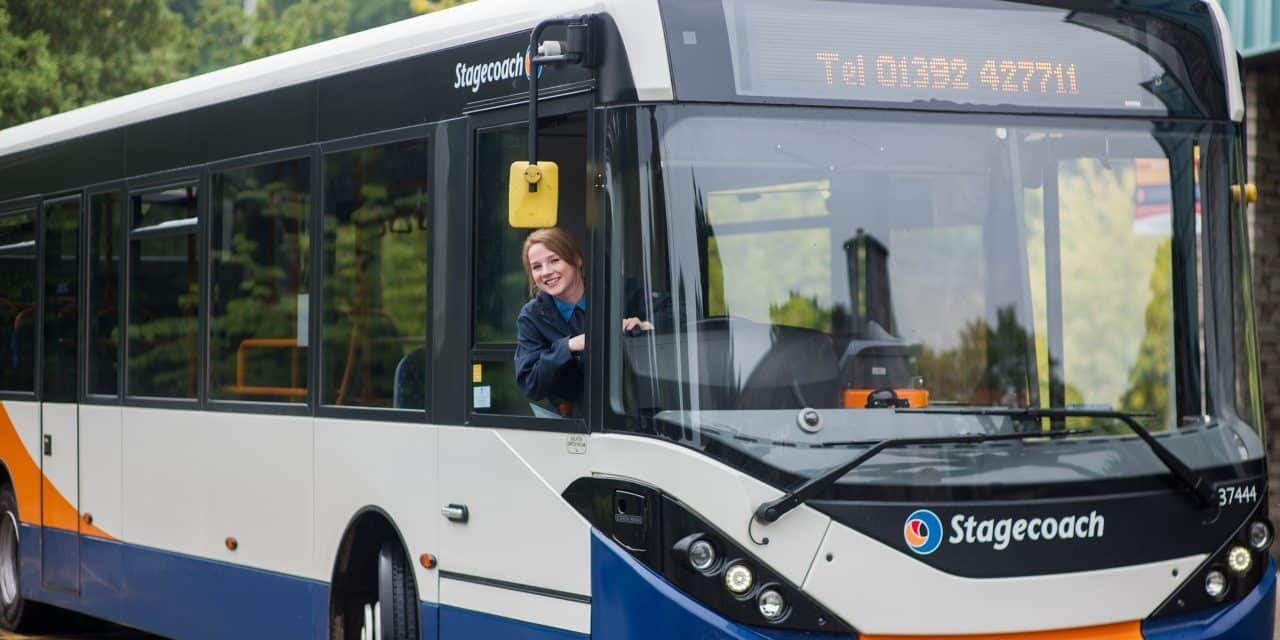 "STAGECOACH LISTEN TO FEEDBACK AND ANNOUNCE TRIAL OF GREAT VALUE ""1+2"" EXETER DAYRIDER TICKET"