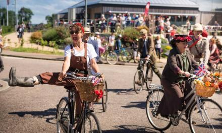 Vintage Velo and Cycling Fest Weekend in Seaton, Devon