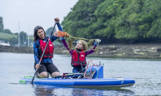 Success for the Paddle & Pick Challenge Team Behind 'Plastic Clever Salcombe'
