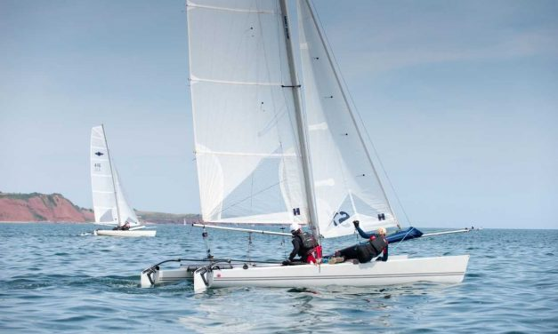 Hundreds of Devon's Sailors Turn Out for the River Exe Regatta