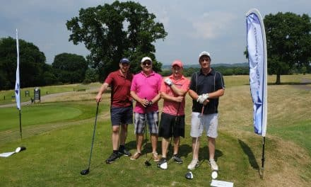 Devon golf day raises over £12,000 for children's charity