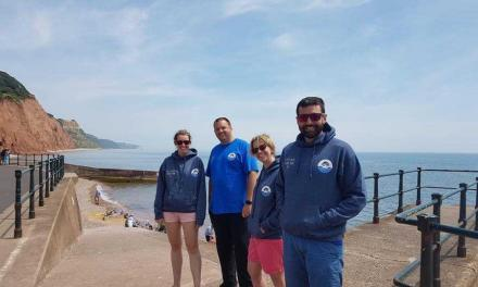 Bishop Fleming Swim the Channel for Charity