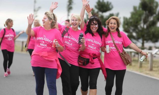 Pink with a Touch of Green: the Hospiscare Twilight Walk