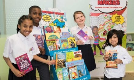 Exeter Library Gets Up to Mischief for the Summer Reading Challenge 2018