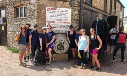 One Voice Media Team Walks Templer Way Raising Over £2,500 for Charity