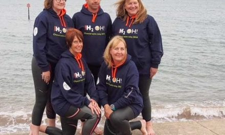 Exeter Businesswoman Takes on the English Channel to Raise Money for Charity