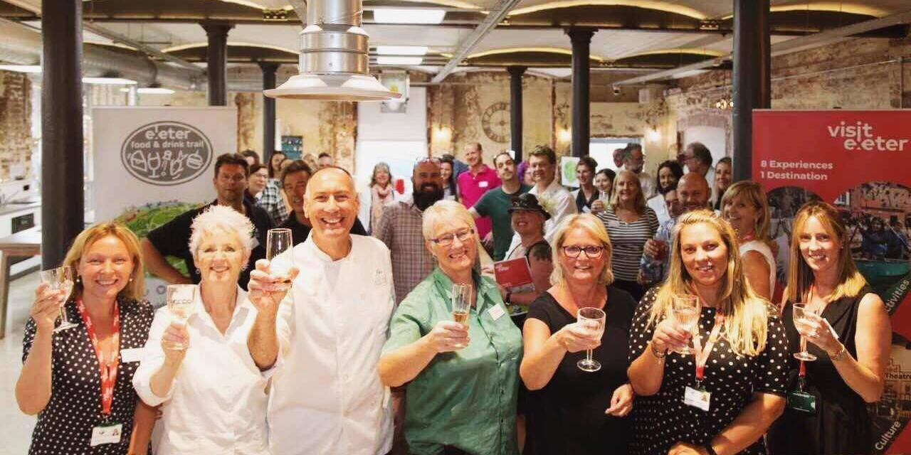 Details of the New Exeter Food and Drink Trail Revealed at Exclusive Pre-Launch Event