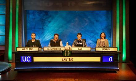 University of Exeter Competes in Iconic TV Quiz Show