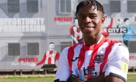 EXETER CITY FOOTBALL CLUB MAKE NEW SIGNING