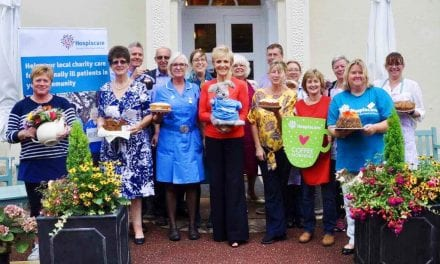 Judi & Gus Hop Over to Otterton Care Home for Tea Party in Aid of Charity!