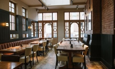 HARRY'S RESTAURANT REOPENS AFTER A GRAND REFURBISHMENT