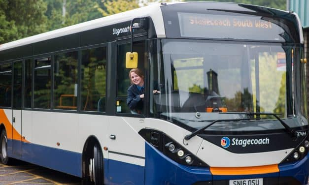 Stagecoach South West Celebrate 95% Customer Satisfaction