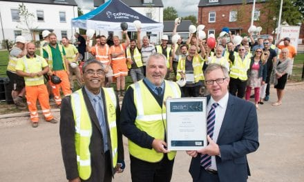 Cavanna Homes Site Managers Celebrate Double Award Win