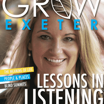 Grow Magazine Front Page, Exeter, News, Catherine Hill