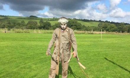 Zombies Return to One of Devon's Popular Tourist Attractions