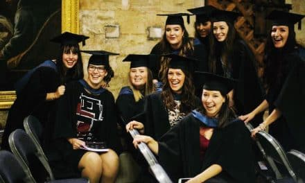 'Golden' Degree Graduation Day for Exeter College Students