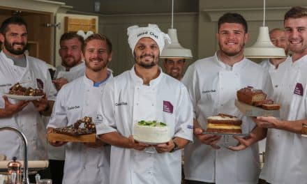 Exeter Chiefs stars launch Cookie Club Cook Book