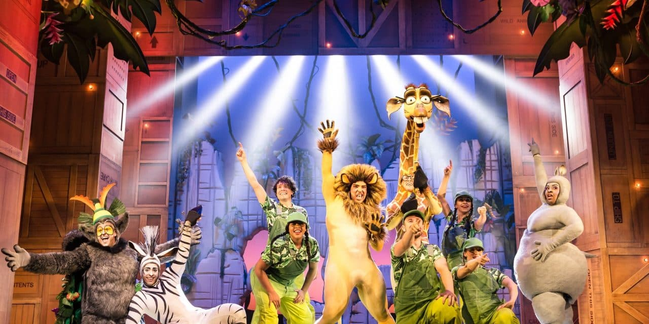 Grow Liked To Move It Move It At Madagascar The Musical!