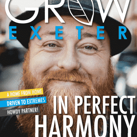 Adam Moran, Adam in the Hat, Exeter, Grow Magazine, News,